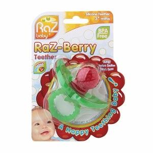 Raz Baby Raz-Berry Silicone Teether       - $4.49