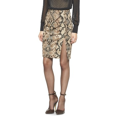 Altuzarra for Target Python Pencil Skirt- Natural  $34.99