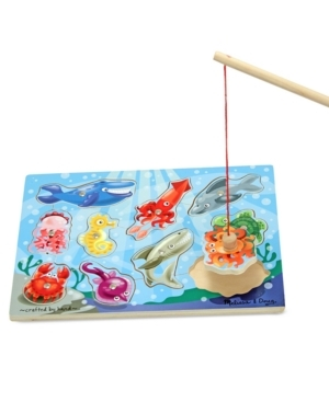 Melissa & Doug Aquatic Magnetic Fishing Puzzle , $13.49