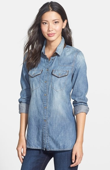 June Chambray Shirt $140