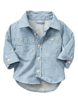 Baby Gap Chambray Shirt $24.95
