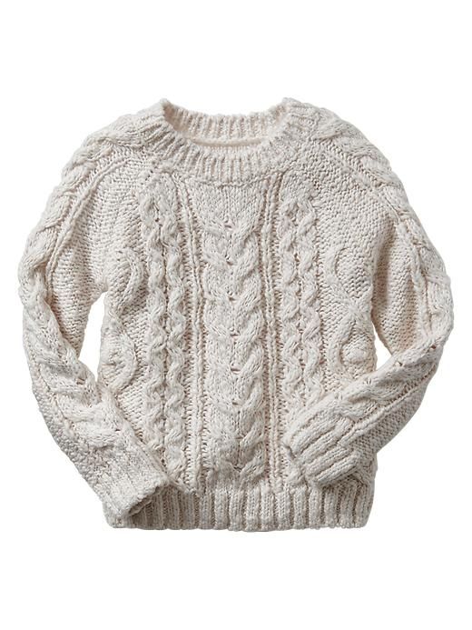 Baby Gap Cable Knit Sweater $34.95