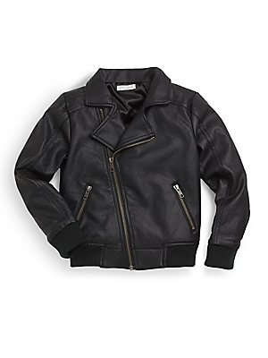 Petit Lem Pleather Jacket $34.99