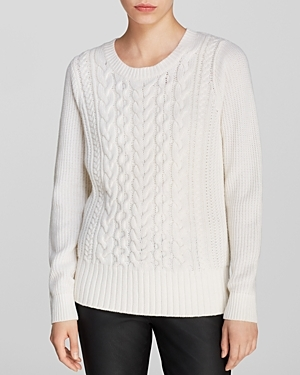 Old Navy Cream Cable Knit Sweater $39.94