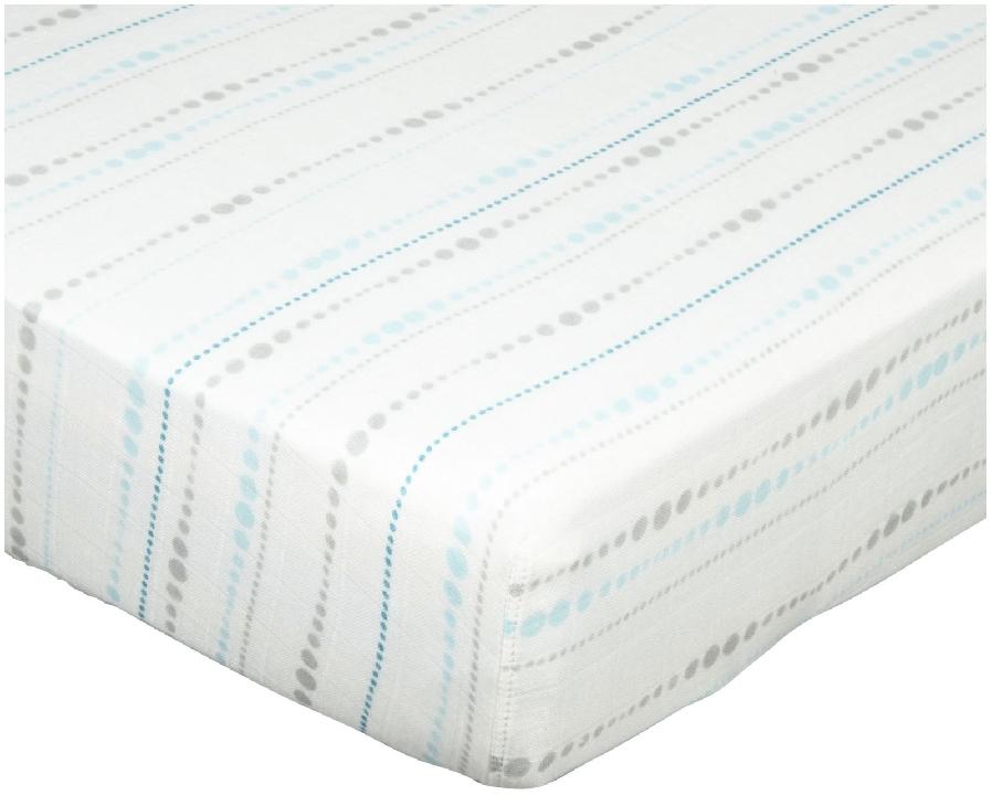 aden + anais Bamboo Rayon Muslin Crib Sheet        ($32.00)