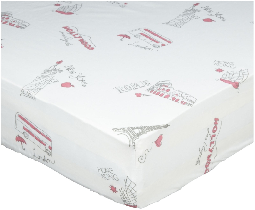 Oliver B City of Dreams Crib Sheet        ($28.99)