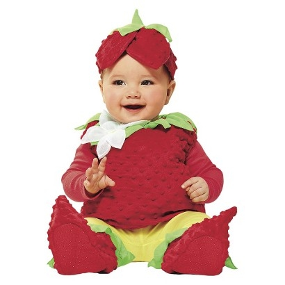 Toddler Strawberry Costume ($20)