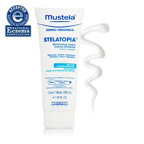 Mustela Stelatopia Moisturizing Cream ($22)