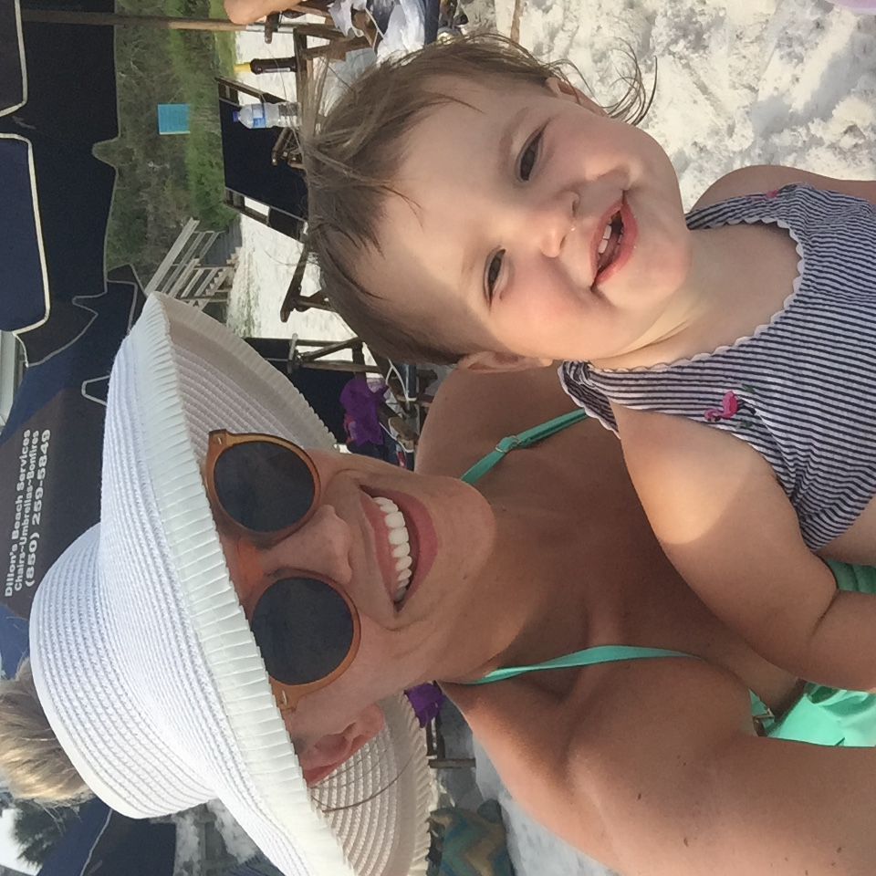 Me and my niece Kendall |  Hat  |  Bathing Suit