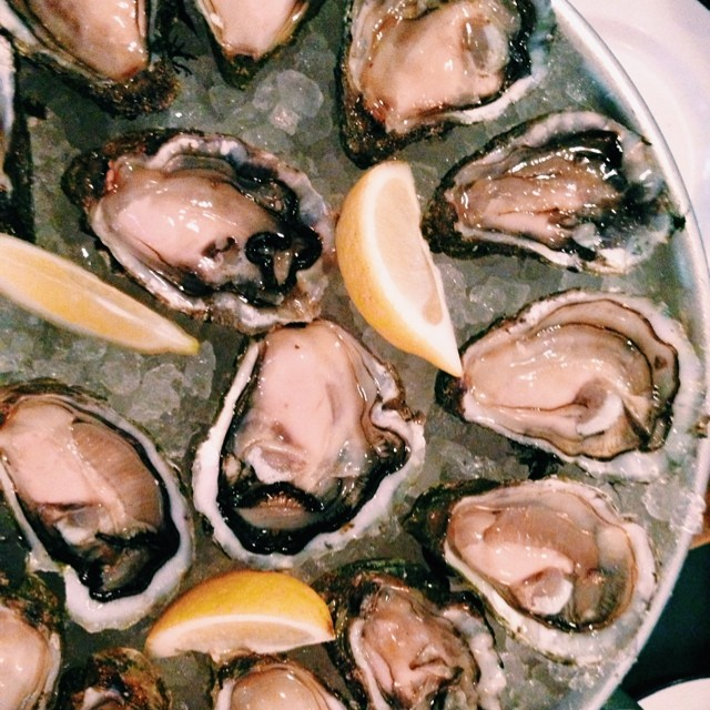 Amazing oysters from Clamato