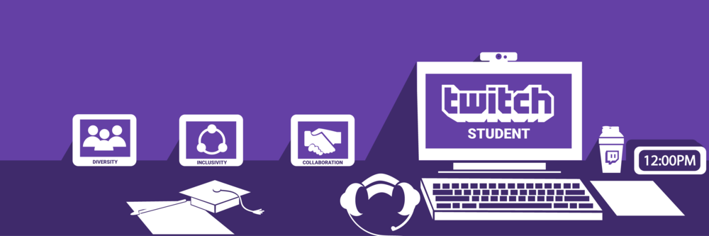 Twitch Student Program: Promoting  Diversity ,  Inclusivity  and  Collaboration  through e-sports in the academic community all across North America & Europe.