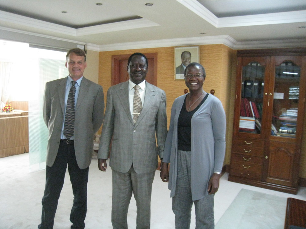 David Warner PM Odinga Joyce Oneko May 30th 2011.jpg