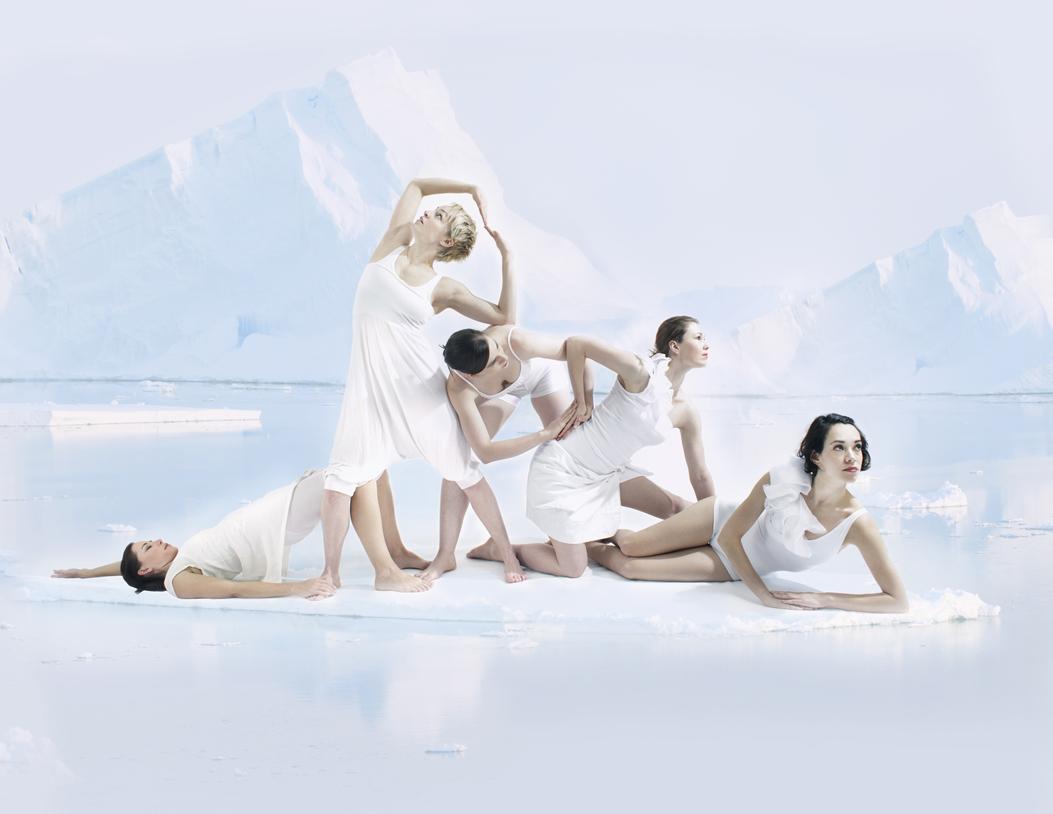Tina Evans dance work on Antarctic ice