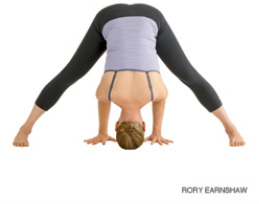 Wide-Legged Forward Bend (Prasarita Padottanasana I)
