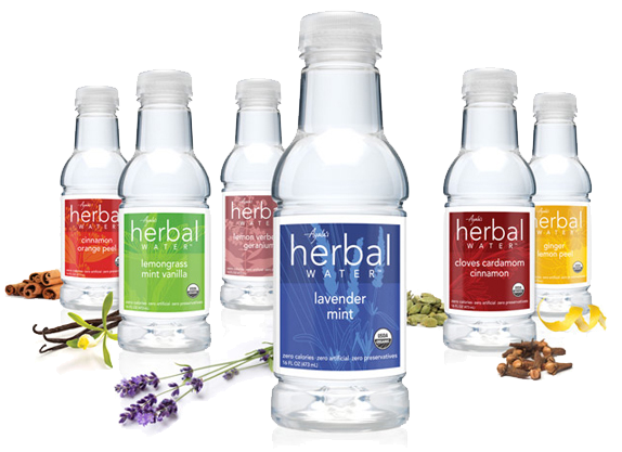 All images used from the Ayala's Herbal Water  website .
