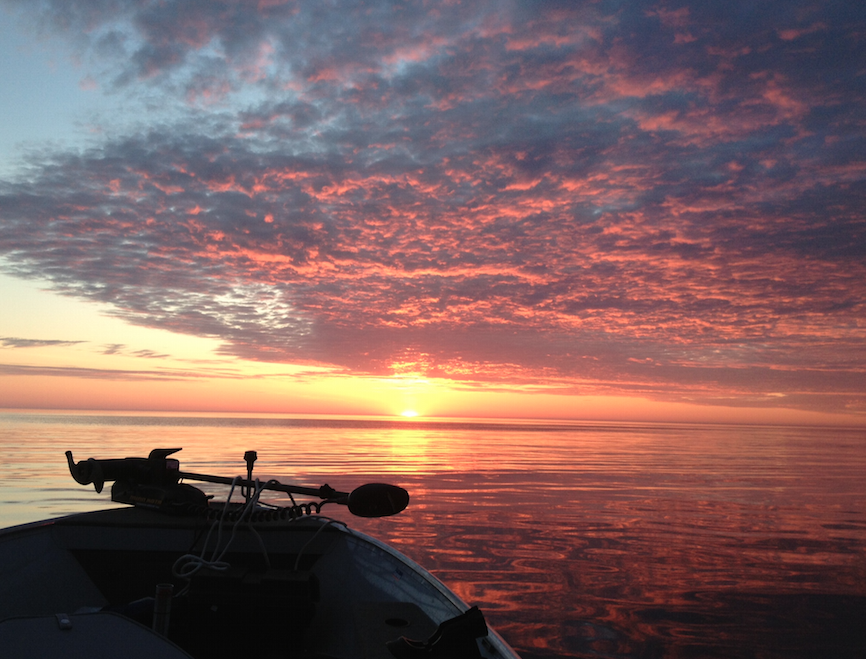 Lake Superior Sunrise - Photo by my #1 guy, my Dad.