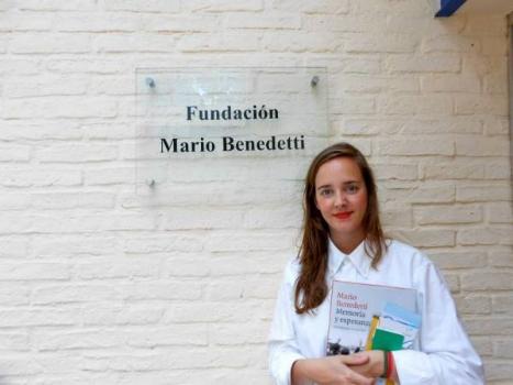 En la Fundación Mario Benedetti de Montevideo (Uruguay).