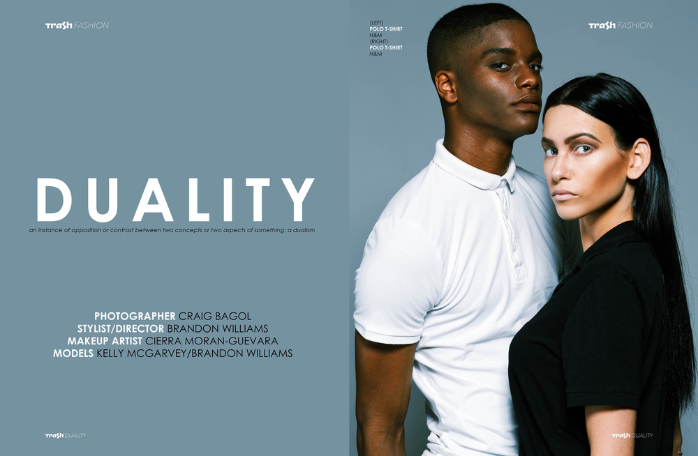 Click here to see the full editorial:  http://www.trash-magazine.com/fashion/duality
