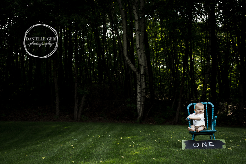 Maple Lake Minnesota Children and Family Photos. Professional One Year Boy Pictures.