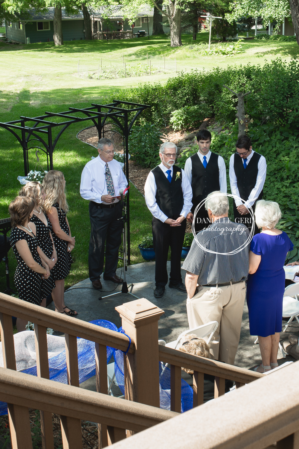 Cokato, Minnesota Backyard Wedding