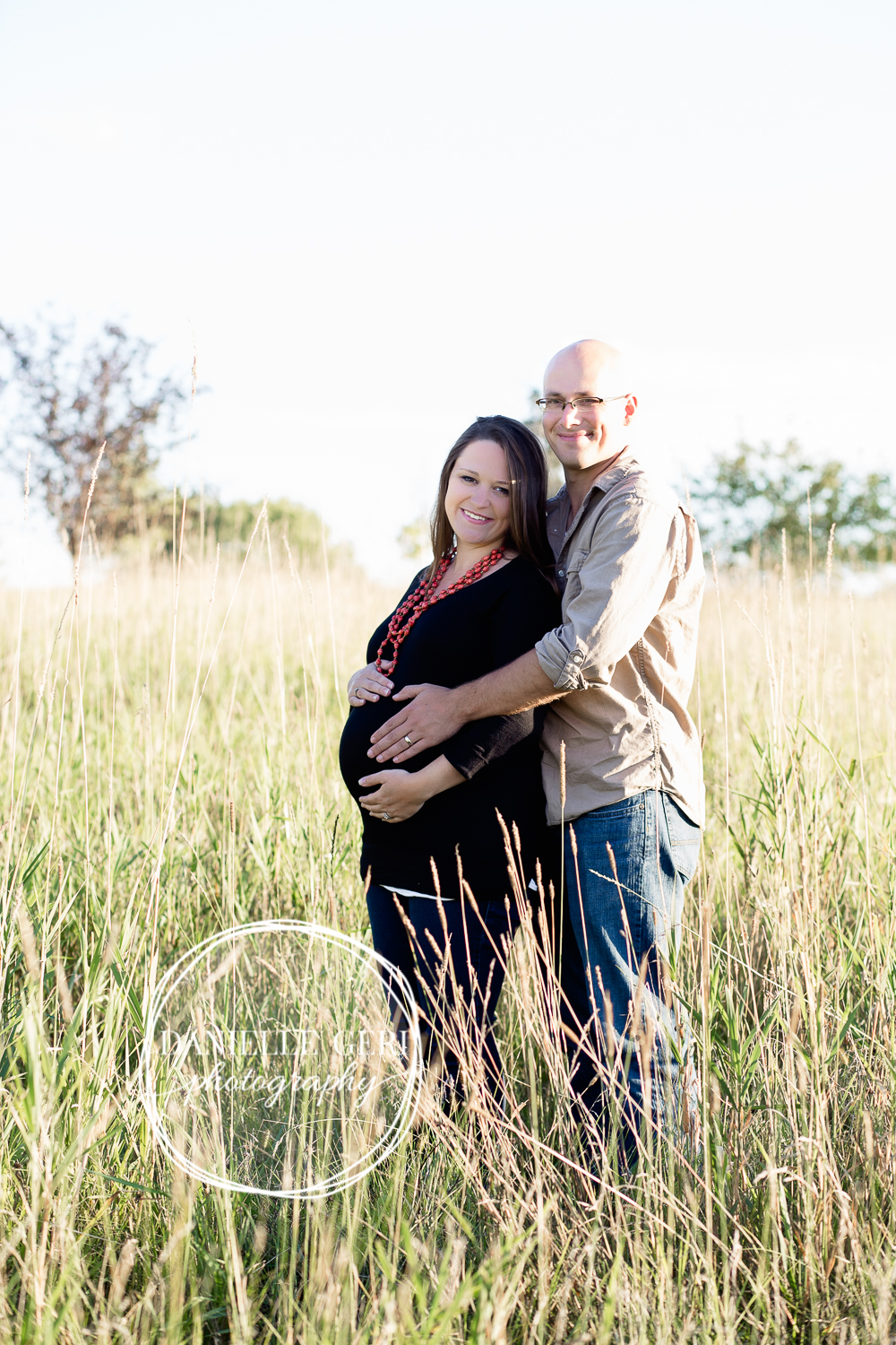 Fall maternity photos in andover minnesota