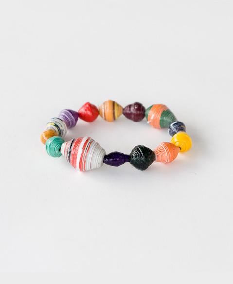 http://www.noondaycollection.com/bracelets/funky-paper-bead-bracelet-1