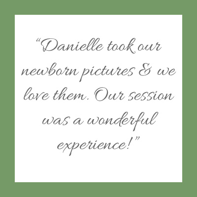 Danielle Geri Photography Newborn photo session review. MN Lifestyle Photographer.