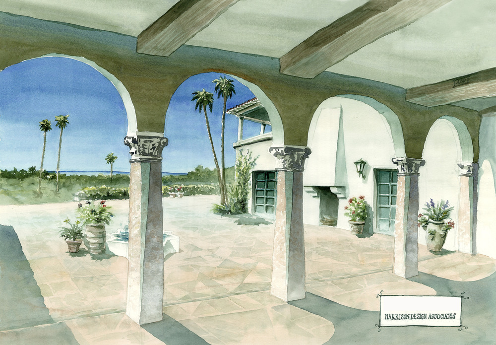 Land for sale in Montecito Santa Barbara California Land for sale dream home ocean views mountain views home inspiration home ideas family home Riskin Partners Rebecca Riskin Village Properties