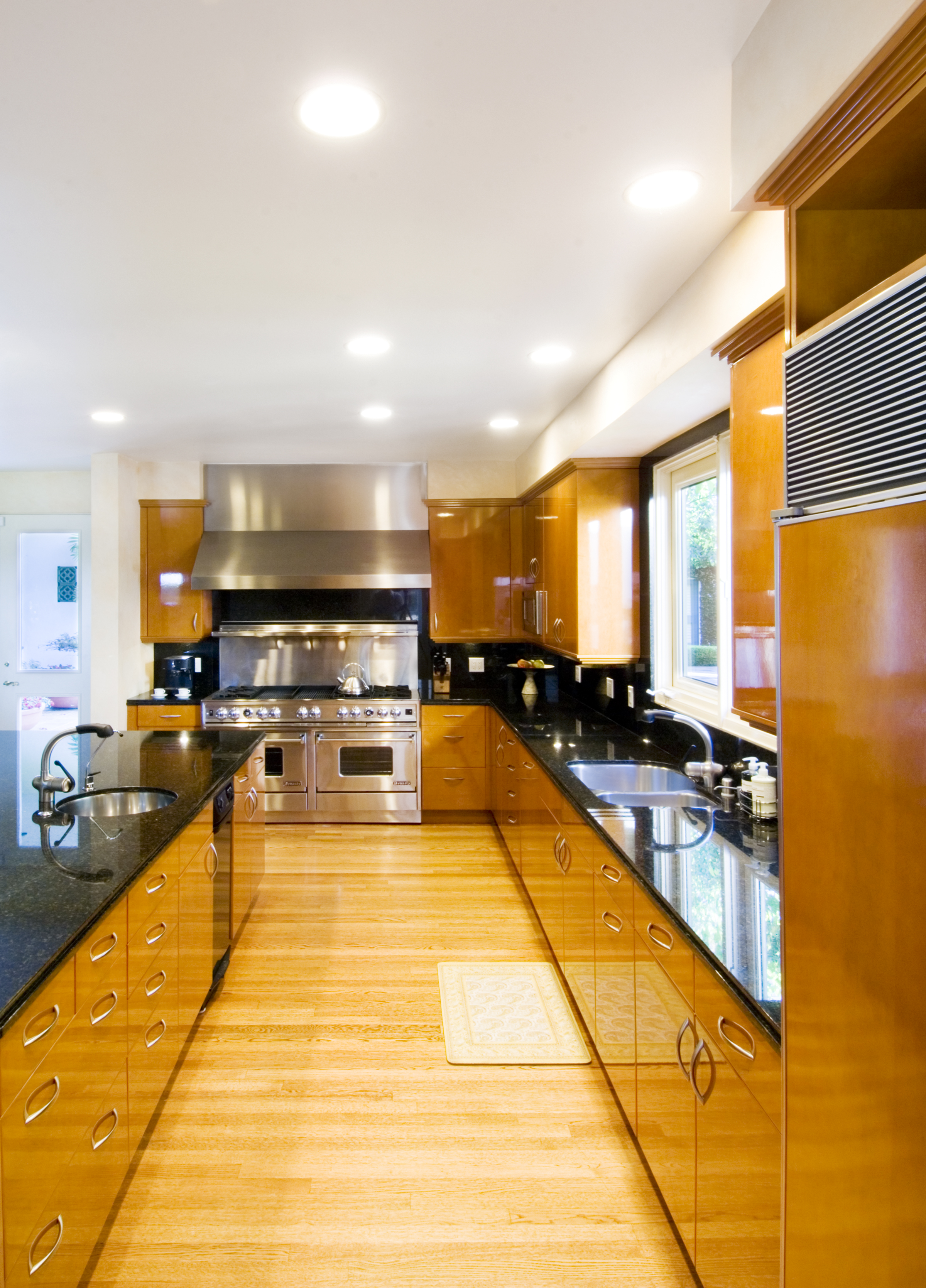 contemporary modern montecito kitchen