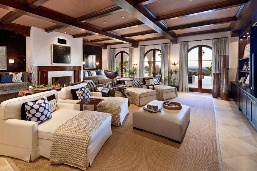 Montecito Estate Media Room