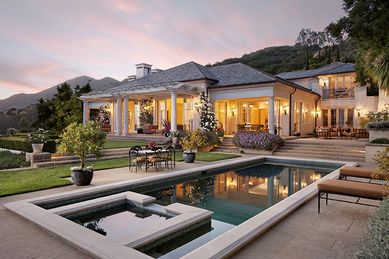 A luxury montecito estate
