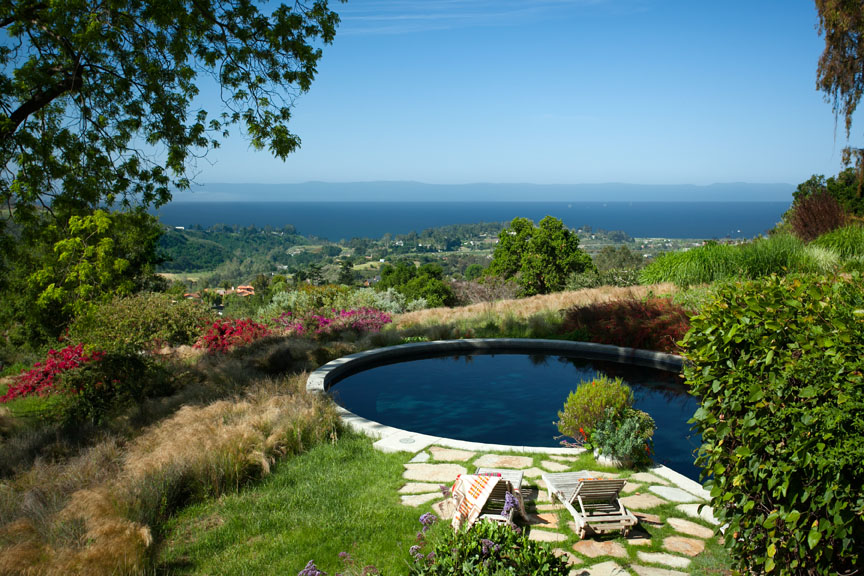 A Santa Barbara Ocean view estate.