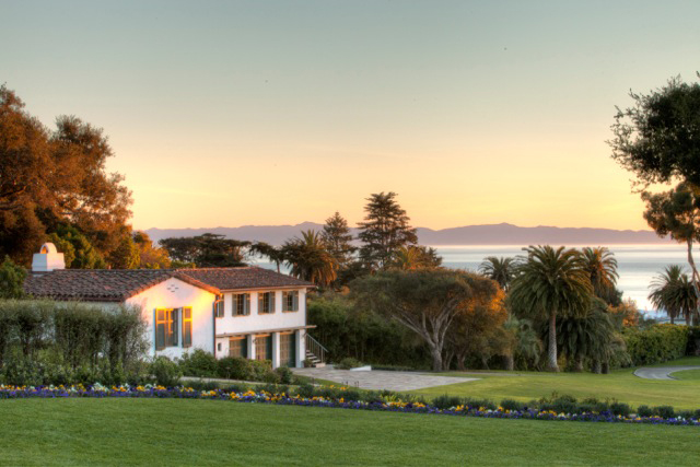 This sprawling Hope Ranch estate is perfectly sighted for enchanting sunset views.