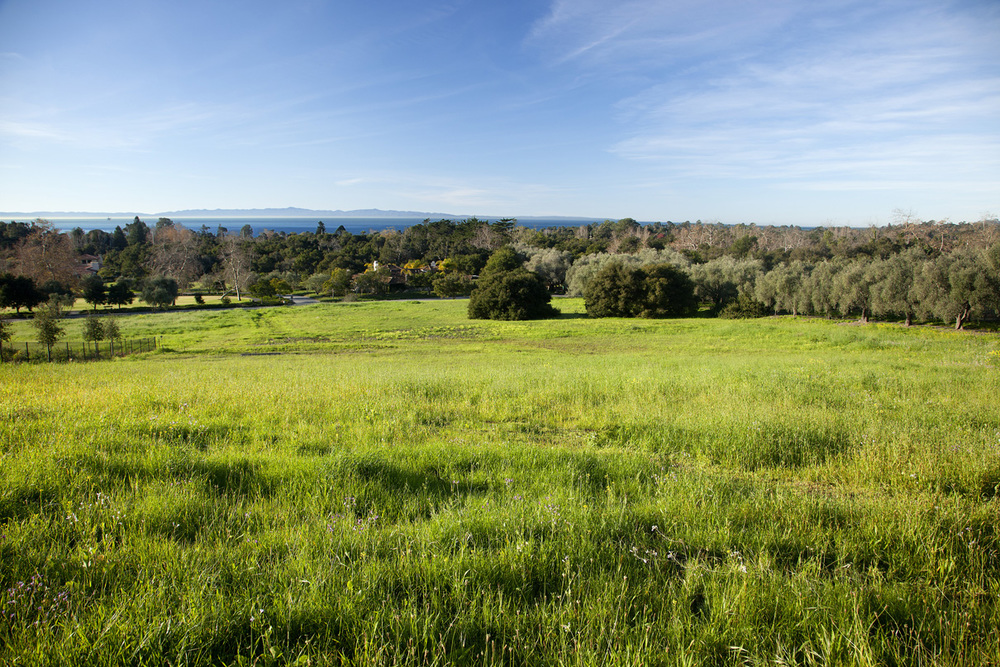 In a private, gated community, $2,195,000 will buy you a beautiful, flat 1.5 acre lot to build your dream home.