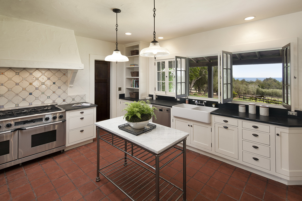 Home for sale Montecito Santa Barbara California equestrian horses ocean view mountain view 308 Ennisbrook