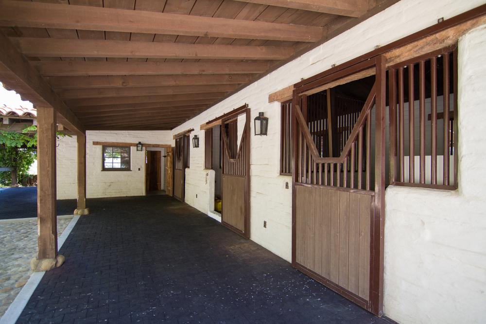 Home for sale Montecito Santa Barbara California equestrian horses ocean view mountain view 308 Ennisbrook Riskin Partners Village Properties