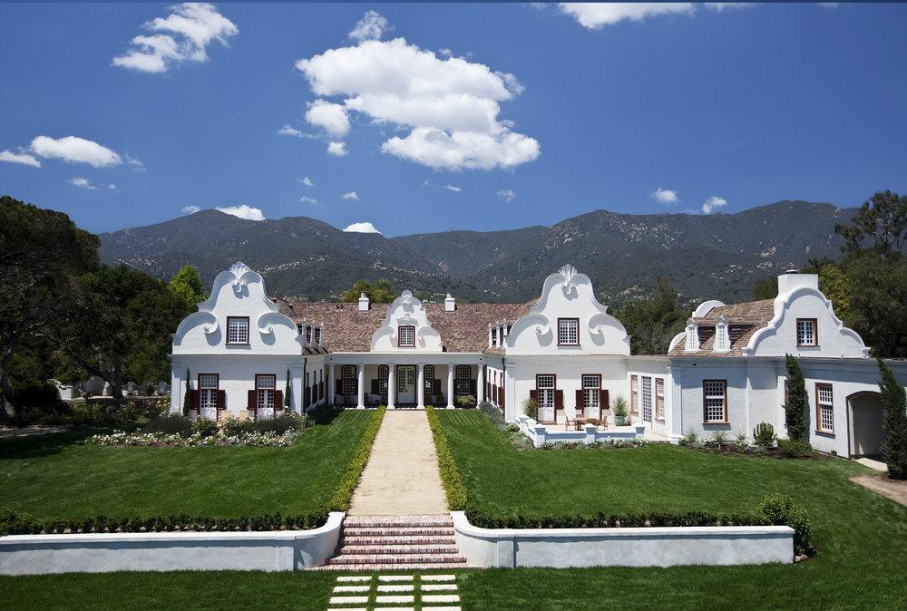 Constantia Montecito Cape Dutch Estate Riskin Partners The 1