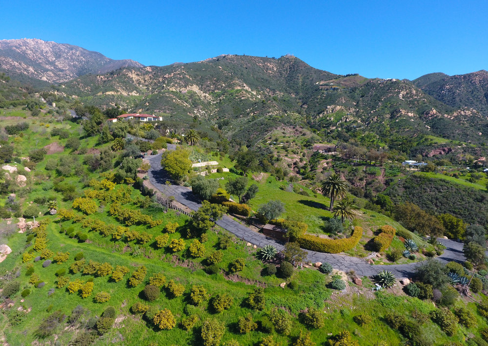 2222 Gibraltar Road Santa Barbara Montecito California Land for sale estate site for sale ocean views mountain views riskin partners rebecca riskin