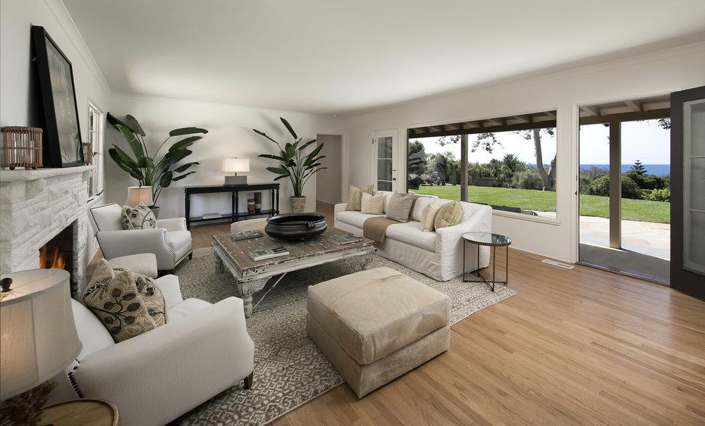 Park Lane West Montecito ocean view house for sale