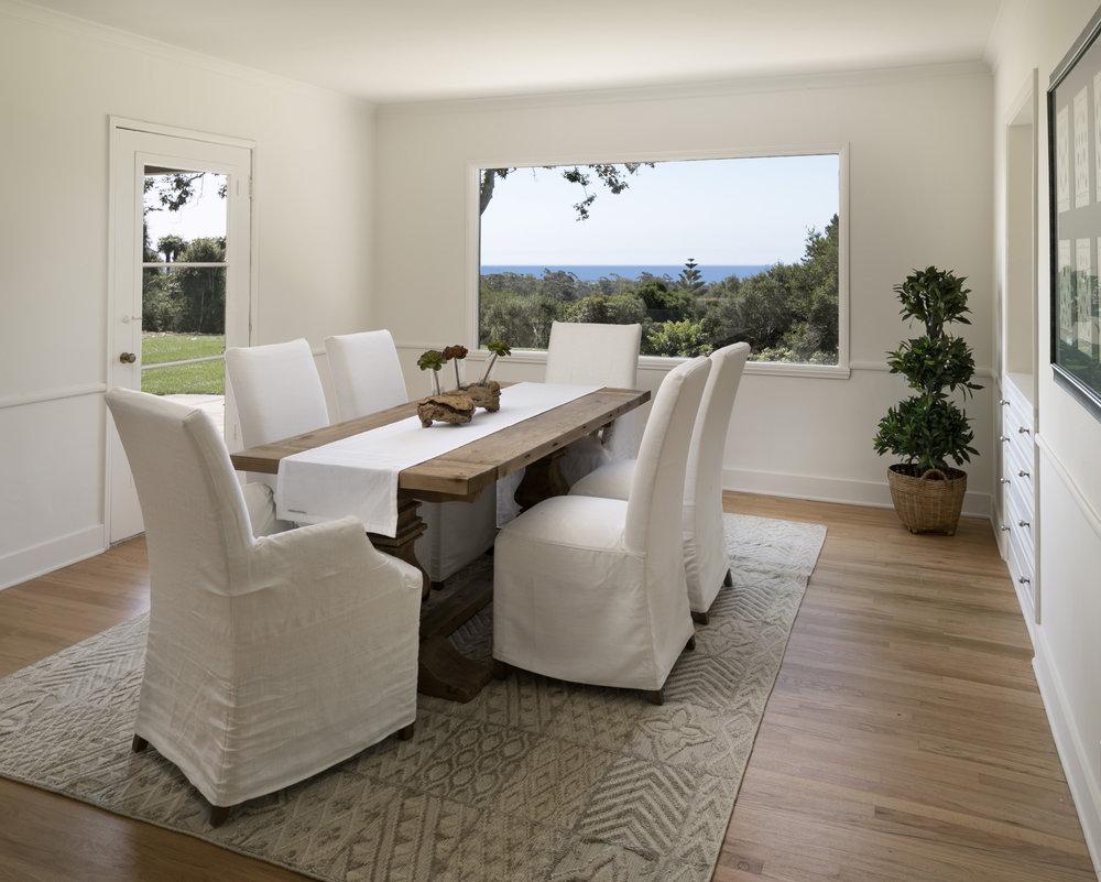 Park Lane West House for Sale Montecito ocean View