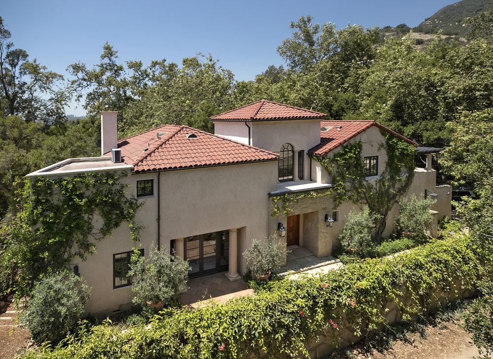 Park Lane West House for Sale Montecito