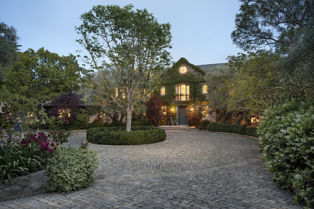 Garden Lane Montecito Estate for sale Riskin Partners