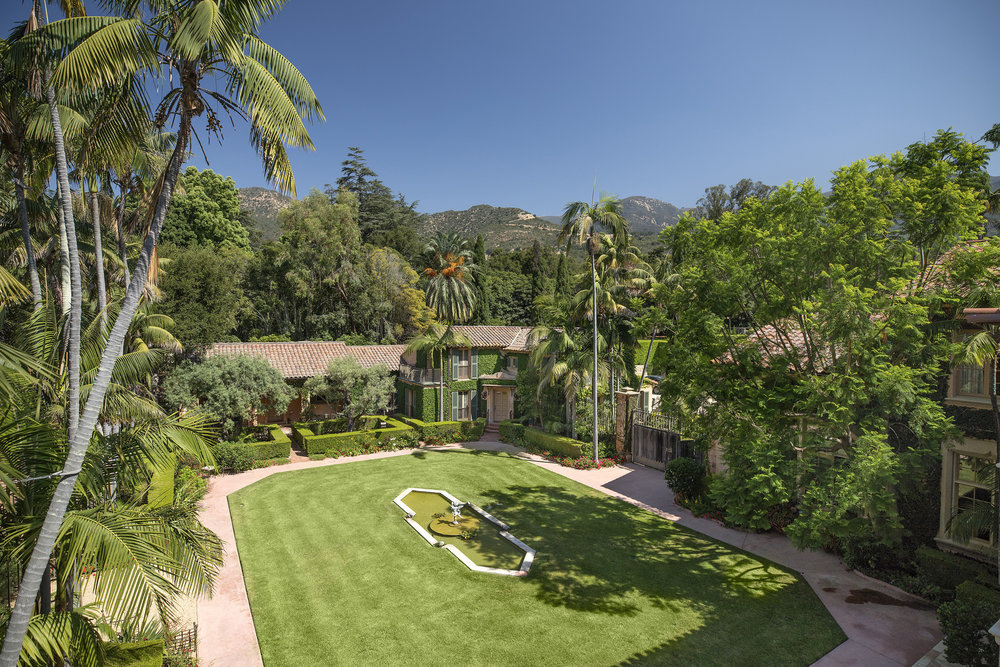 888 Cold Springs road Luxury Estate  for sale in Monetcito Santa Barbara California Homes for sale Family Estate pool private historic pocket listing celebrity estates 888 Cold Springs Road Riskin Partners Rebecca Riskin Village Properties