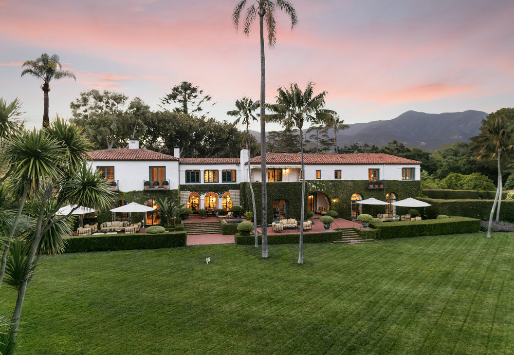 Montecito House for Sale Hot Springs Road George Washington Smith estate