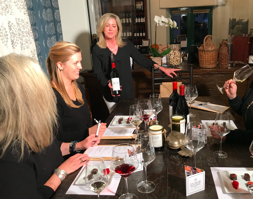 Santa Barbara Wine and Chocolate Pairing, Riskin Partners