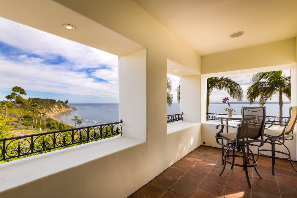 Master Patio Ocean View