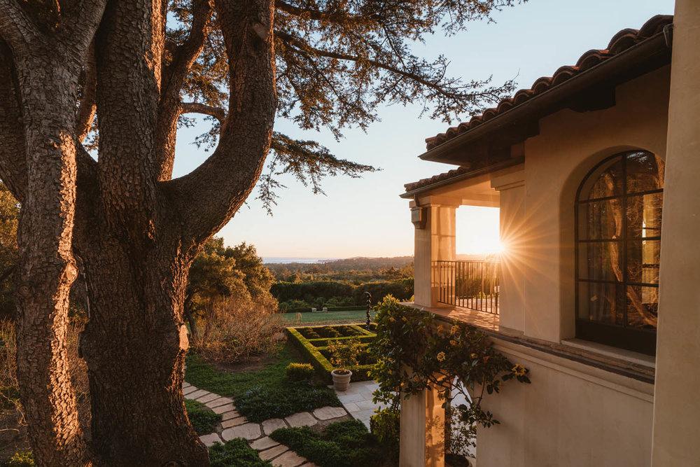 Park Lane Estate Montecito Harbor views ocean view private Riskin Partners
