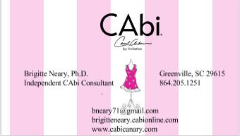 Brigitte Neary, Ph.D., Independent CAbi Consultant.