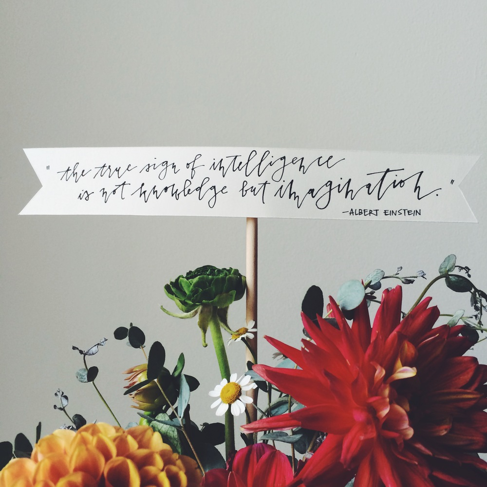 hand-lettering by Kelly Lee