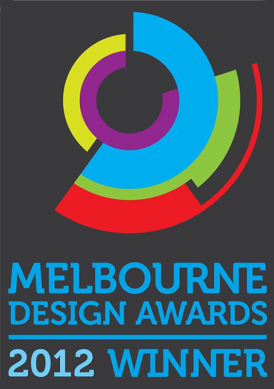 Winner Melbourne Design Awards 2012